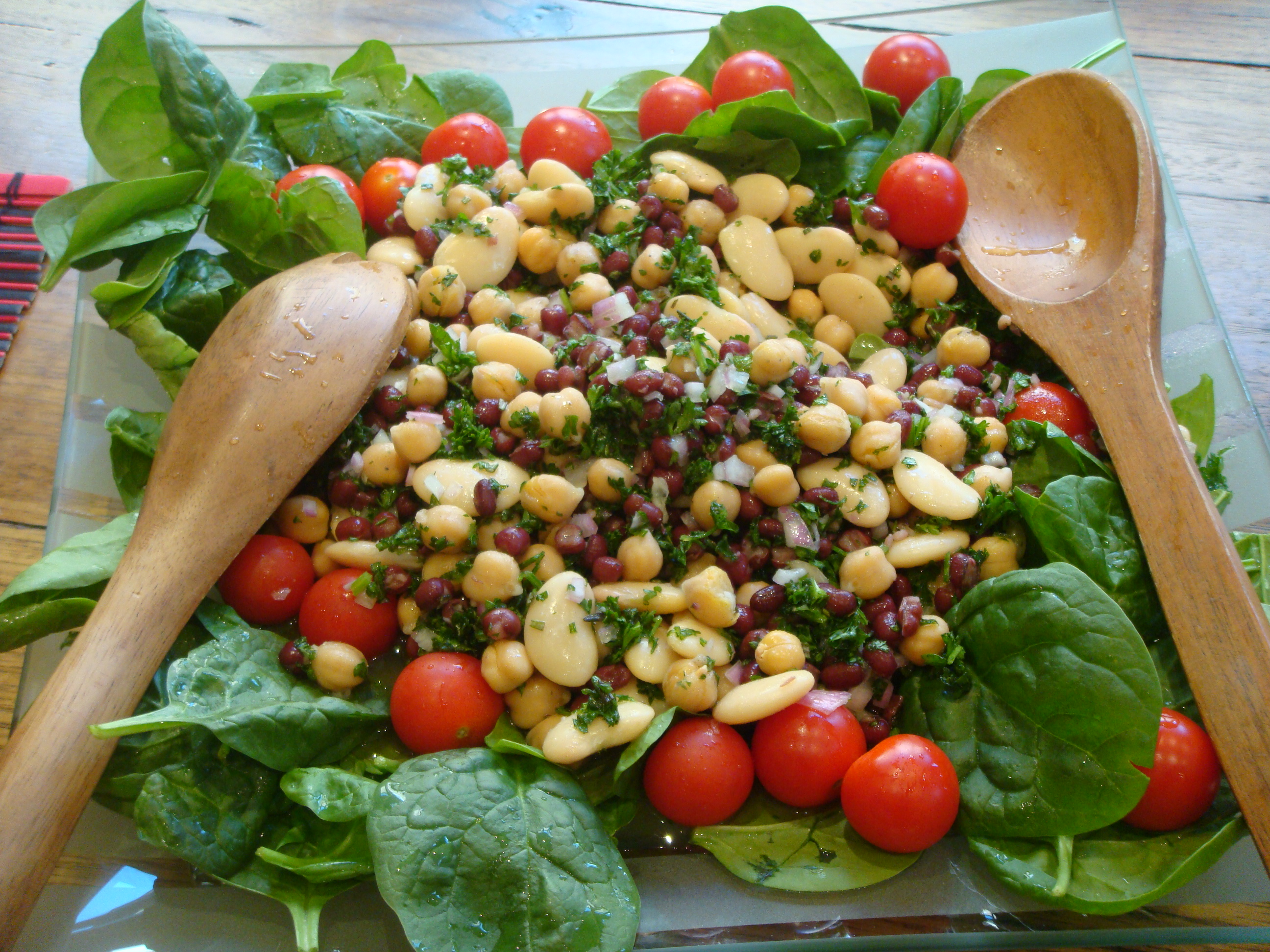 simple three bean salad