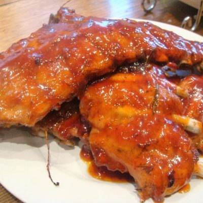 Rooibos Spare Ribs