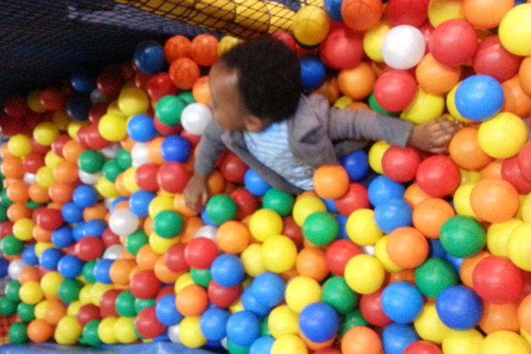 Baby in Ball Pool