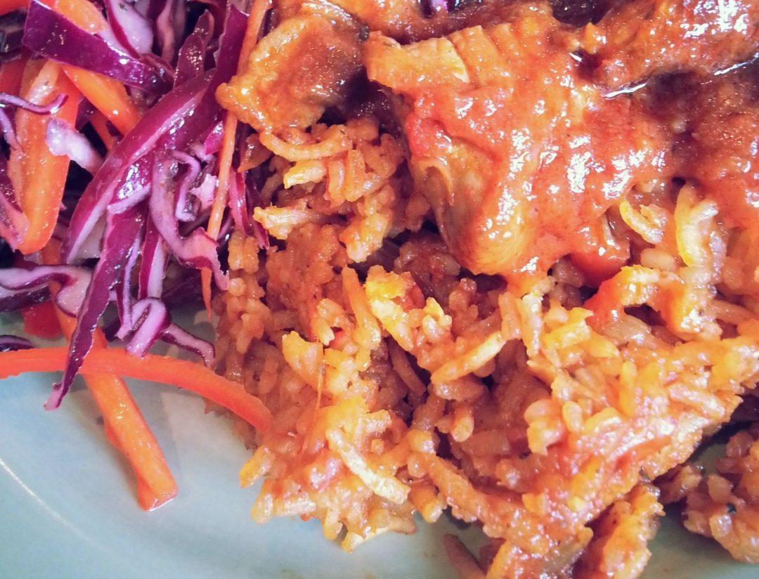 Party Jollof Rice - My Burnt Orange