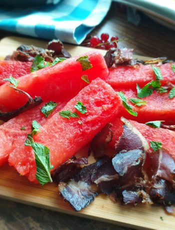 Watermelon and Biltong Salad