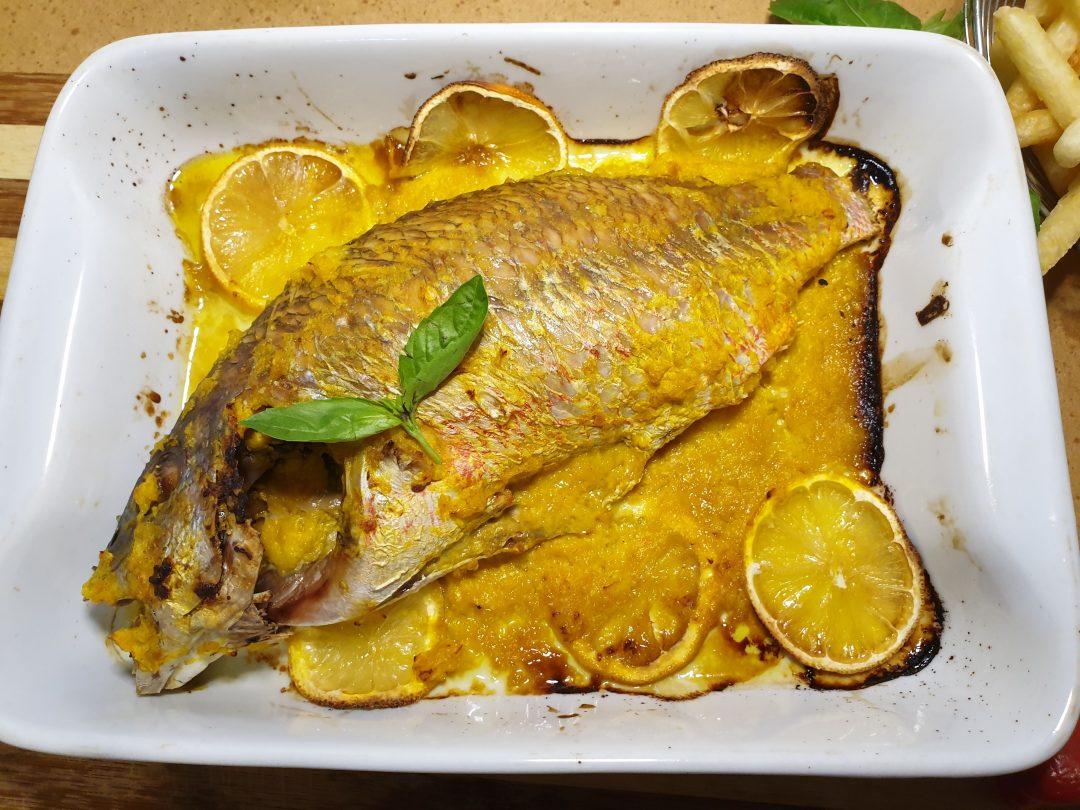 Turmeric Fish Yassa