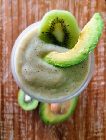 fermented millet smoothie
